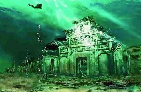 千岛湖水下遗迹