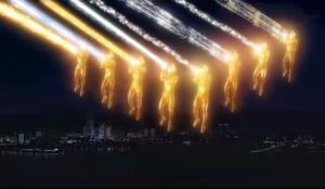 迪迦与其他奥特曼对战邪心王·黑暗影法师
