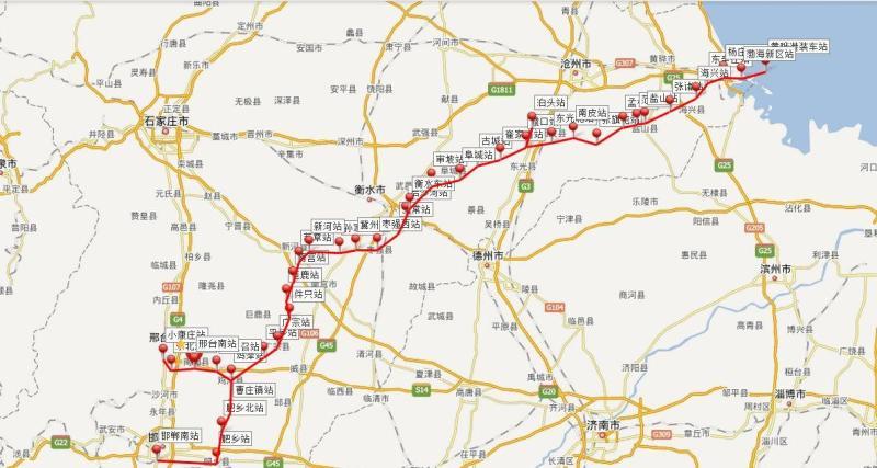 河北省平乡县城地图