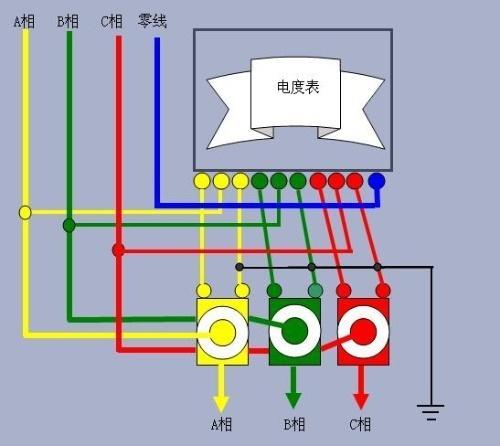 互感器电表接线图 资料样图片