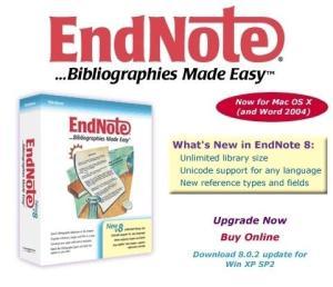 Endnote界面