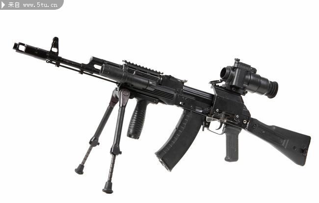 美国的加特林机枪则是大规模用于实战的机枪.