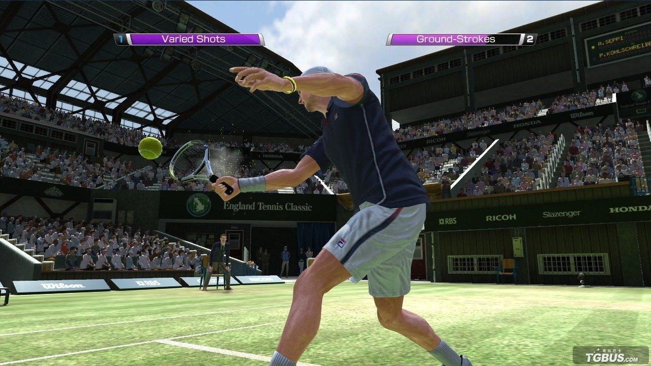 [Mo资讯] 虚拟网球4试玩_标清