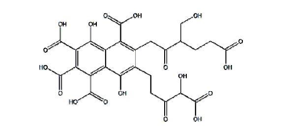 研究发现富里酸分子量较低,与腐殖酸相比,其分子结构中含有的碳较少