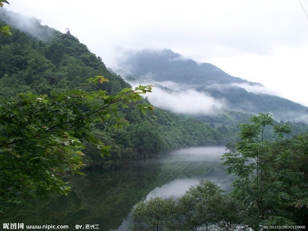 康县阳坝自然风景区图册