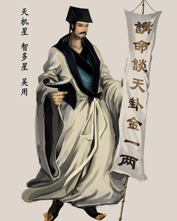 吴用(古代四大名著《水浒传》中人物)