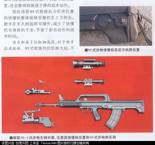 95G突击步枪