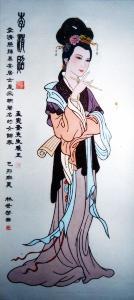 李清照画像(6张)