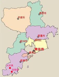 青岛市黄岛区人口_青岛下辖各区市的名称由来