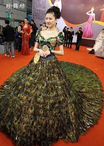 珍锦坊云锦婚纱