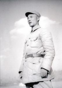 1939年冬,吕正操在晋察冀抗日根据地留影