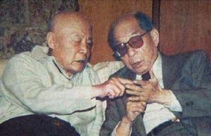 1991年吕正操与老长官张学良