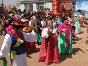 朝鲜族农乐舞