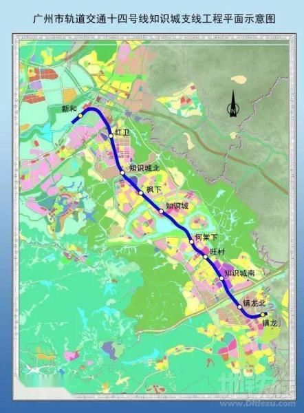 14号线知识城线路图