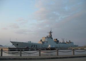 海口号导弹驱逐舰图册