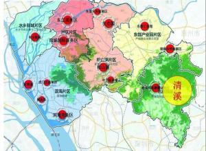 东莞六片区分布