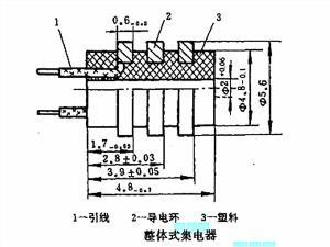 20號機座旋轉變壓器的集電器