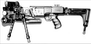 CS/LW9拐弯枪武器系统左视图