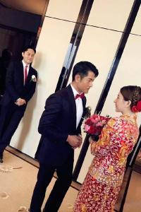 郭富城方媛婚礼照