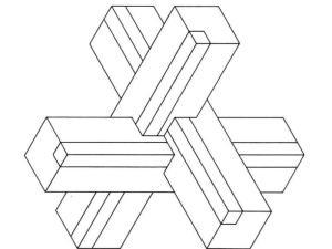 例如:两个正方体可以组成一个长方体,一个圆柱体可以拆?-立体图形图片