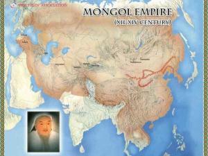 成吉思汗建立的大蒙古国