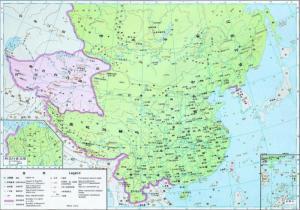 1280年元朝疆域