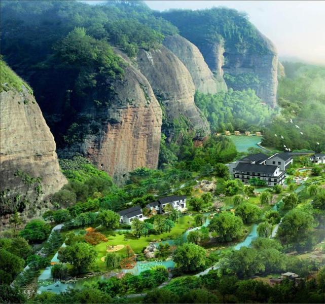 三溪寨九坳丹霞地貌生态园