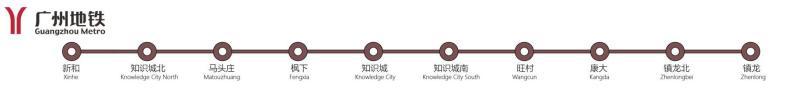 旧版知识城线路图