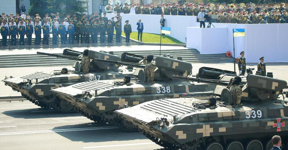 烏克蘭舉行活動慶祝獨立日