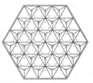 三角锥体系网架
