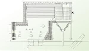 水煤导热油炉原理图